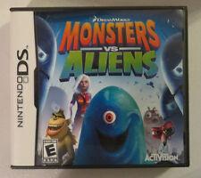 Monsters vs. Aliens ( Nintendo DS ) Lite Dsi xl 2ds 3ds xl