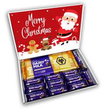 Wolves Cadburys Dairy Milk Chocolate Bars Gift Box Hamper Christmas Present