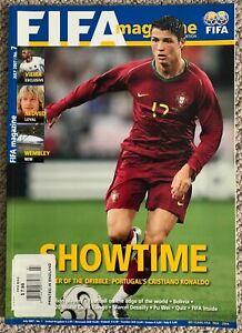 Cristiano Ronaldo FIFA MAGAZINE July 2007 # 7 Portugal - Soccer United