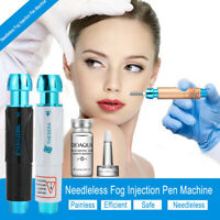 Pro Noninvasive Nebulizer Injection Pen Injector Anti-Aging Set +Hyaluronic Acid