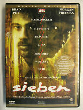 SIEBEN - DVD SPECIAL EDITION - BRAD PITT MORGAN FREEMAN
