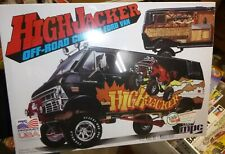 "MPC ""HighJacker"" 4-Wheel Drive Custom 1971-1974 Ford Econoline Van 1/16 McM FS"