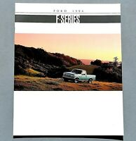 ORIGINAL 1994 FORD F-SERIES PICKUP PREMIUM SALES BROCHURE ~ 20 PAGES ~94FFSERIES