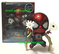 Hot Toys Avengers Infinity War LED Iron Spider Dual Web Shooting Version Cosbaby