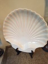 Boston Warehouse Large Shell Shaped China Serving Platter/Plate/Tray/