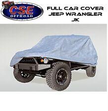 Three Layer Full Car Cover 2 Door Jeep Wrangler JK 07-16 13321.80 Rugged Ridge