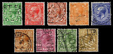 1924 Great Britain Types Of 1912-13 - Wmk 35 - Used - Fine+ - $22.70 (E#2448)