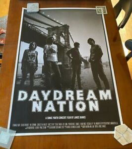 Sonic Youth Original Movie Poster Daydream Nation Lance Bangs - 2018 LA Showing