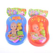 Poupée bébé Baignoire avec douche Accessoires Kids Set Pretend Jeu de rôle Jouet
