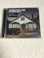 The Cooper Temple Clause - See This Through and Leave (2003) CD