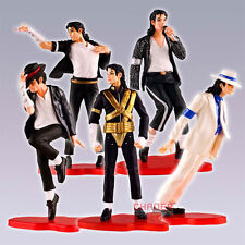 5 stücke Michael Jackson Figur Set -Dangerous-Billie Jean-Smooth Criminal-usw...