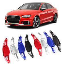 Alloy Steering Wheel DSG Paddle Extension Shifters Cover Fit For Audi RS3 17-18