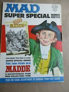 """MAD Super Special No.19, 1976 Complete with Bonus """"Ye Olde Madde"""""""