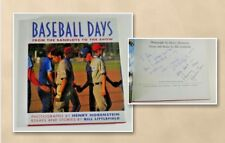 Baseball Days by Bill Littlefield (Signed Autographed Copy) Book