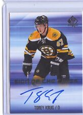 Torey Krug 2015-16 SP Authentic Sign Of The Times C'D SOTT-TK