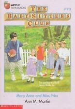 Mary Anne and Miss Priss (Baby-Sitter's Club #73)-ExLibrary