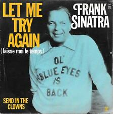"""45 TOURS / 7"""" SINGLE--FRANK SINATRA--LET ME TRY AGAIN--1973"""