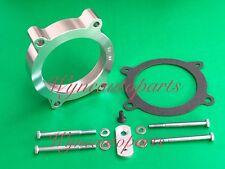 SILVER Throttle Body Spacer fit 07-13 Chevy Silverado/GMC Sierra V8