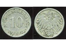 ALLEMAGNE 10 pfennig  1898 A