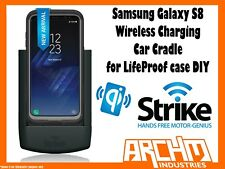 Strike Alpha Samsung Galaxy S8 Wireless Charging Car Cradle for Lifeproof Case D