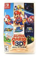 Super Mario 3D All-Stars - Nintendo Switch Brand New Physical Game NIB