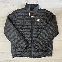 NIKE SPORTSWEAR SYNTHETIC FILL PUFFER BUBBLE THERMORE JACKET BV4685-010 MEDIUM