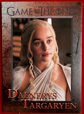 GAME OF THRONES - Season 5 - Card #41 - DAENERYS TARGARYEN - Rittenhouse 2016
