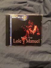 Very Rare - Lole Y Manuel - Romero Verde -Flamenco Spanish Gypsy -Collectible Cd