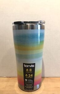 NWT - Tervis Yao Cheng 20 oz. Stainless Steel Insulated Tumbler - Summer Crush