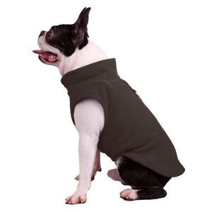 Fleece Small Pet Dog Sweater Jacket Vest Clothes Puppy Cat Coat French Bulldog