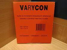Efke Varycon Variable Contrast Printing Filters