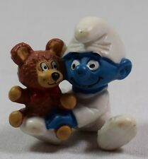 Figurine Schtroumpf bébé avec peluche Schleich Peyo