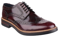 Base London Men's Woburn Hi-Shine Bordeaux 22724