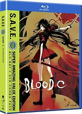 Blood-C Blood C: The Complete Anime TV Series Boxed BluRay / DVD Set NEW!