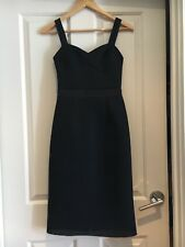 PORTMANS NEW SIZE 6 Black cocktail dress with mesh overlay