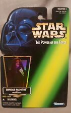 Kenner Star Wars TPoTF c3 reflective Emperor Palpatine proof card