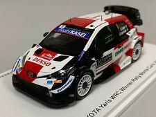 1/43 Spark Toyota Yaris WRC N°1 1er Rallye Monte Carlo 2021 Ogier/Ingrassia Neuf