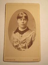 Bonn - 1881 - Hermine Vietor als Mädchen - Portrait / CDV