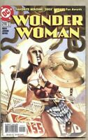 Wonder Woman #210-2005 fn 6.0 JG Jones Greg Rucka Robin Superboy Wonder Girl