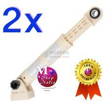 2 Ammortizzatore con supporto lavatrice Candy Hoover Zw 41017168 120N ORIGINALI
