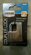 """Reese Towpower Adjustable 5/8""""- 1"""" Trailer Coupler Security & Safety Lock A2597V"""
