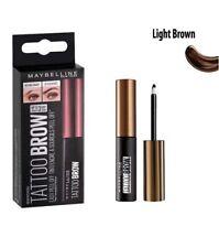 MAYBELLINE TATTOO BROW Tinta per Sopracciglia light brown peel off make up donna