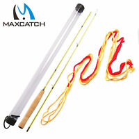 Maxcatch Practice Fly Rod Kit 4ft/4.3ft 2Pc Learning to Cast Fly Fishing
