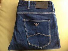 Armani J06 Slim Fit Denim Blue Men's Jeans W32 L30 8N6J06 6D09Z