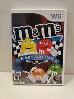 Nintendo Wii M&M's Kart Racing Video Game 2007 Complete
