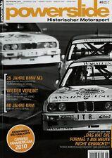 Powerslide Nr. 8/2010 BMW M3 E30 Fiat 127 Abarth Ford Capri Turbo Vic Elford LDS