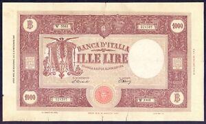 1000 lire Barbetti 1947 – BB++