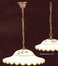 LAMPADARIO SOSPENSIONE IN CERAMICA LAMPADARIO DESIGN LAMPADA a soffitto 1 luce