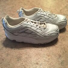 ASpire Women Athletic Shoes Size 10 White & Silver Running, Cross Training, Walk