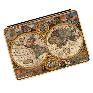 Vintage Old World Map #3 Kindle Paperwhite Touch PU Leather Flip Case Cover